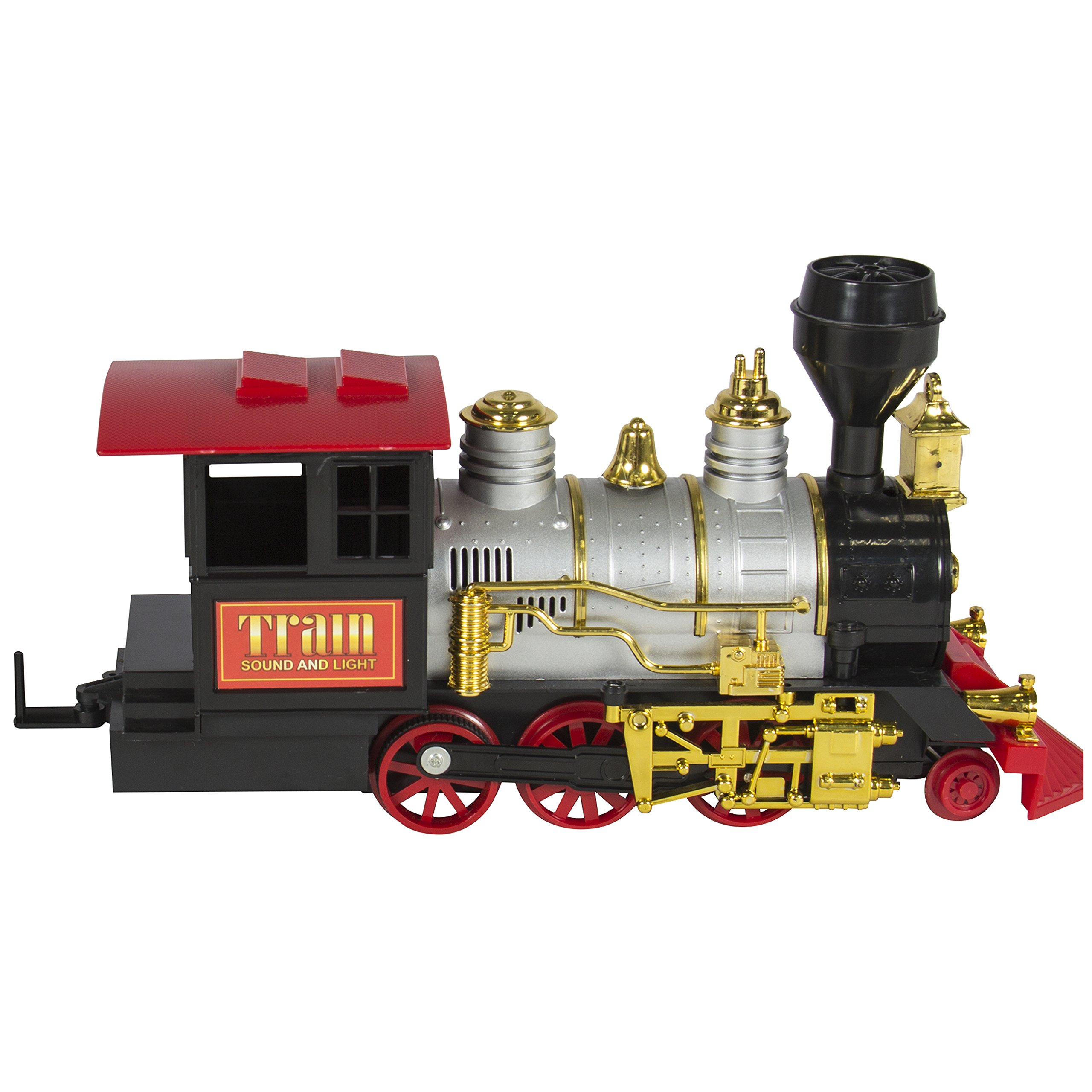 Christmas Under Tree Gift Kids Classic Train Set with Real ...