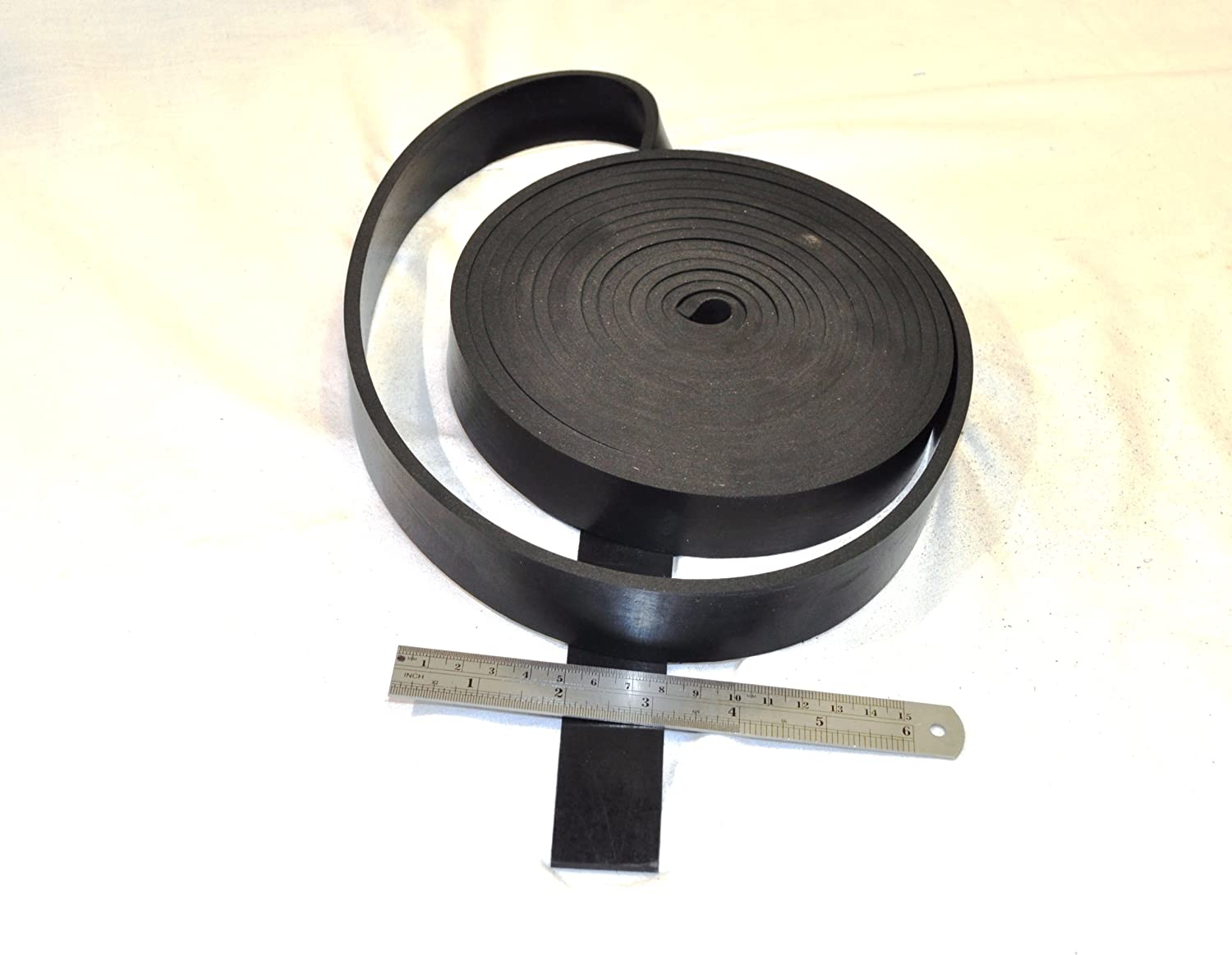 Rubber strip fabric 30mm NR//SBR Many Sizes Rubber Strip Rubber Underlay Mat