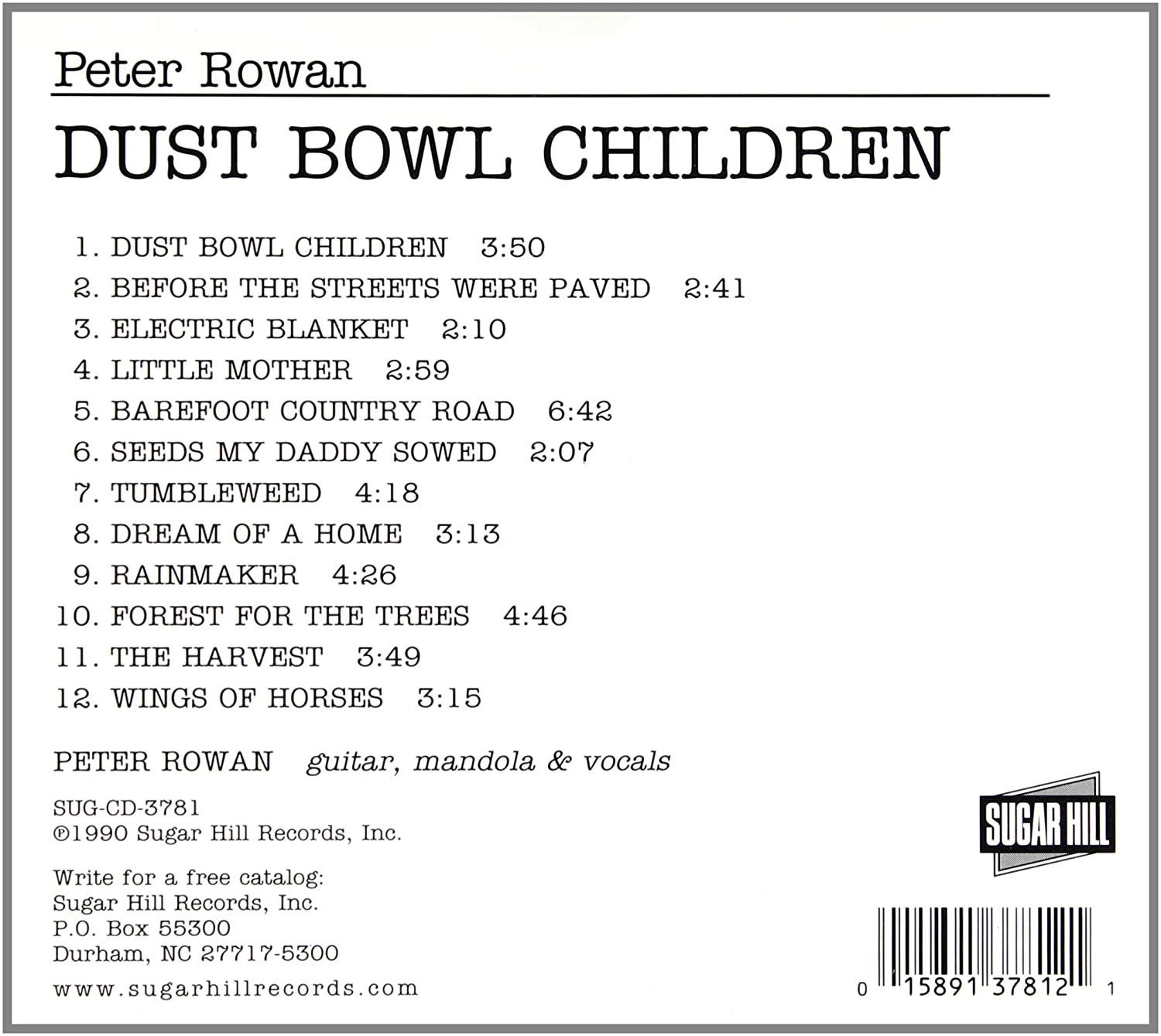 Peter rowan dust bowl children amazon music hexwebz Choice Image