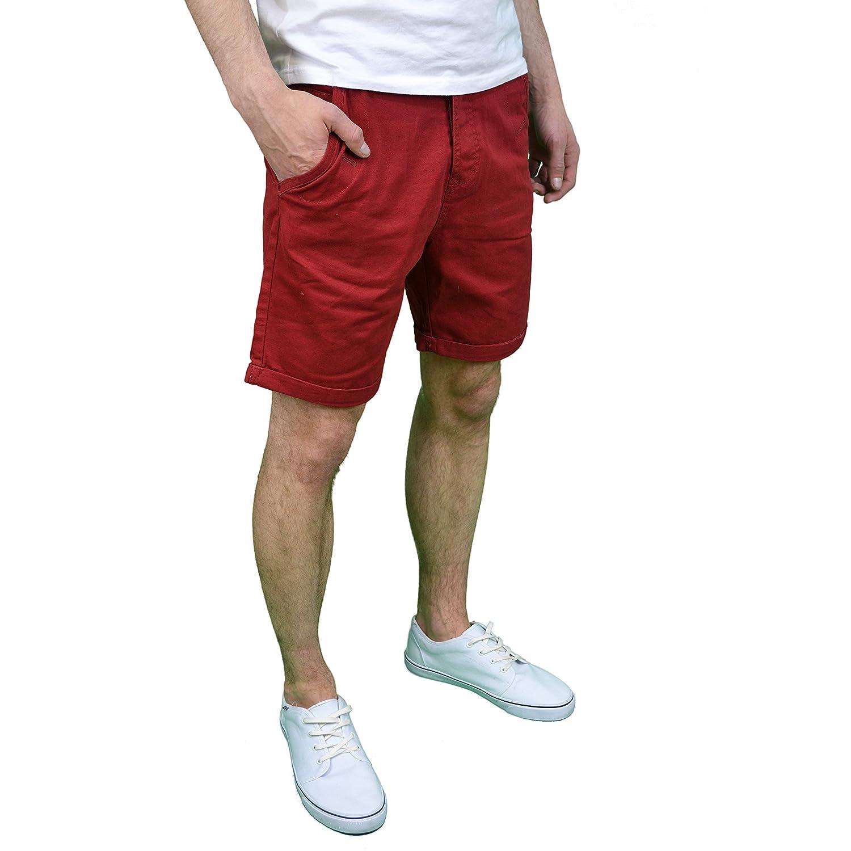 Amazon.com: Soulstar - Pantalones cortos de chino para ...