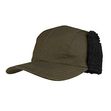 8610ac3510c454 Juniper Unisex Waxed Cotton Canvas Bucket Hat-J9702 - Olive - Large ...