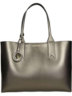 Emporio Armani Women s Shopping Tote With Money Pouch Shopping Tote With  Money Pouch d7b72ce54595d
