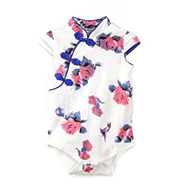 f4c3e3f952d0 Fairy Baby Baby Girl Rompers Chinese Traditional Cheongsam Dress ...