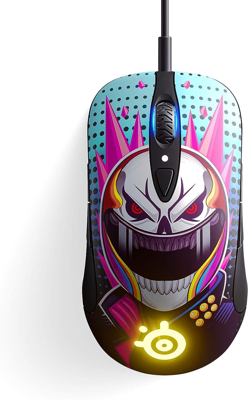 CS:GO Neon Rider Edition Capteur optique TrueMove Pro 18 000 CPI SteelSeries Sensei Ten Design ambidextre Souris de gaming