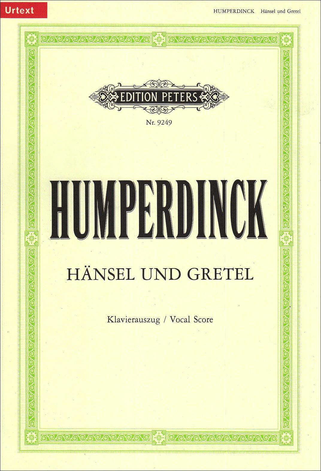 Hänsel und Gretel (Oper in 3 Akten): Märchenspiel in drei Bildern / Klavierauszug Taschenbuch – 1. Januar 2000 Horst Gurgel Engelbert Humperdinck Adelheid Wette Peters