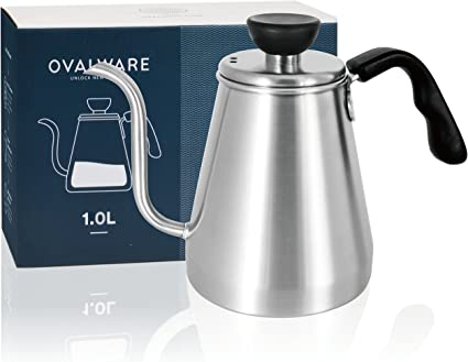 Ovalware Pour Over Coffee Kettle