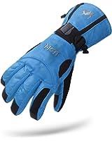 MCTi Waterproof Mens Ski Gloves Snowboard Cycling Motorcycle Winter Thermal Gloves Zipper Pocket