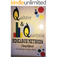 Qualitative and Quantitative Research Methods Simplified (English Edition)
