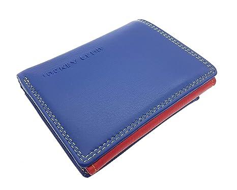 Jockey Club 8108 - Cartera para mujer Mujer, azul (Azul) - 8108
