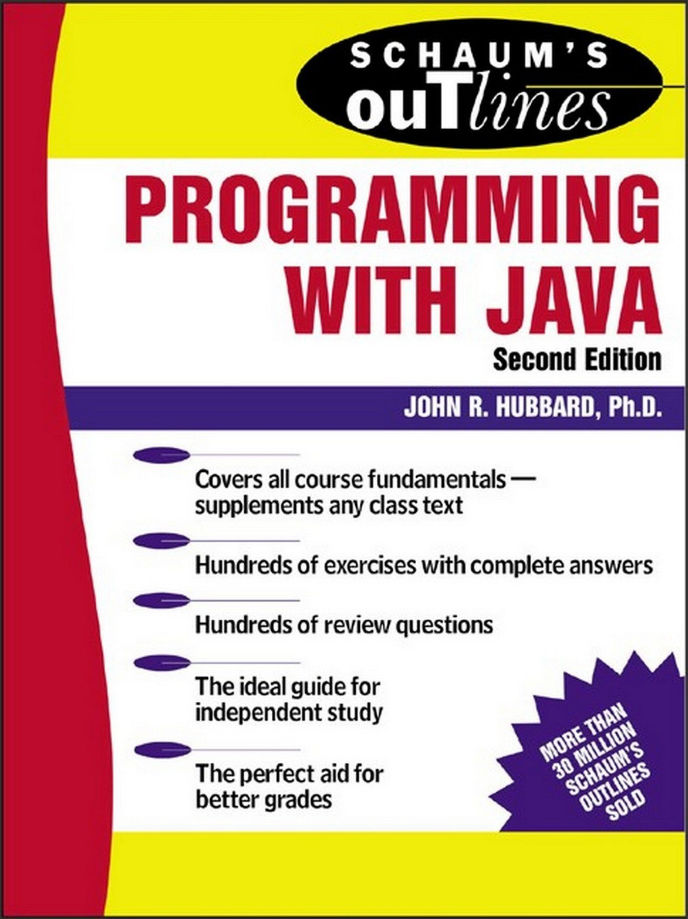 Schaum S Outline Of Programming With Java Schaum S Outlines 2 Hubbard John R Ebook Amazon Com