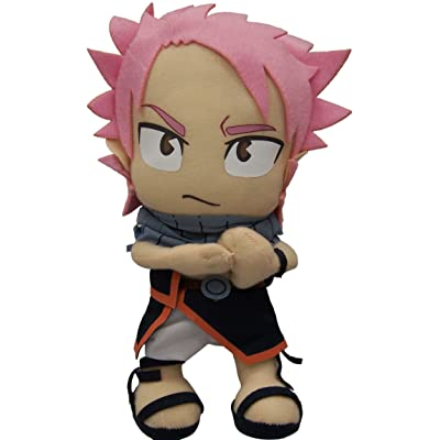 """Great Eastern GE-6969 Animation Official Fairy Tail Anime Natsu Dragneel 8"""" Plush: Toys & Games"""
