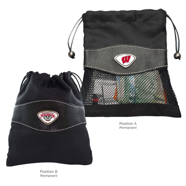 AdSpec NCAA Fan Shop Collegiate Valuables Bag