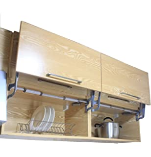 Cabinet Door Vertical Swing Lift Up Stay Pneumatic Arm Kitchen ...