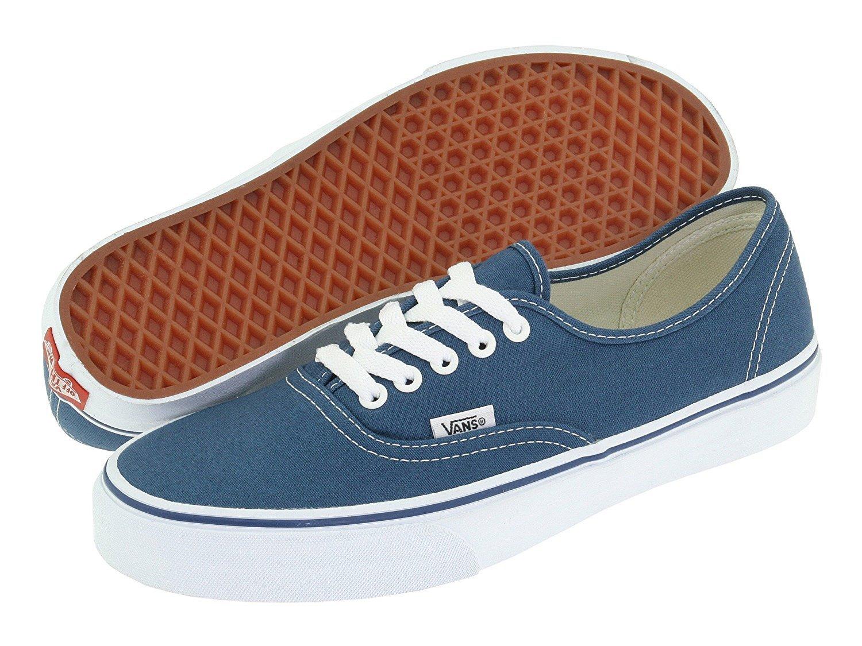 c4add7e43e0264 Amazon.com  Vans Unisex Authentic Solid Canvas Skateboard Sneakers (40 M  EU 9 B(M) US Women 7.5 D(M) US Men
