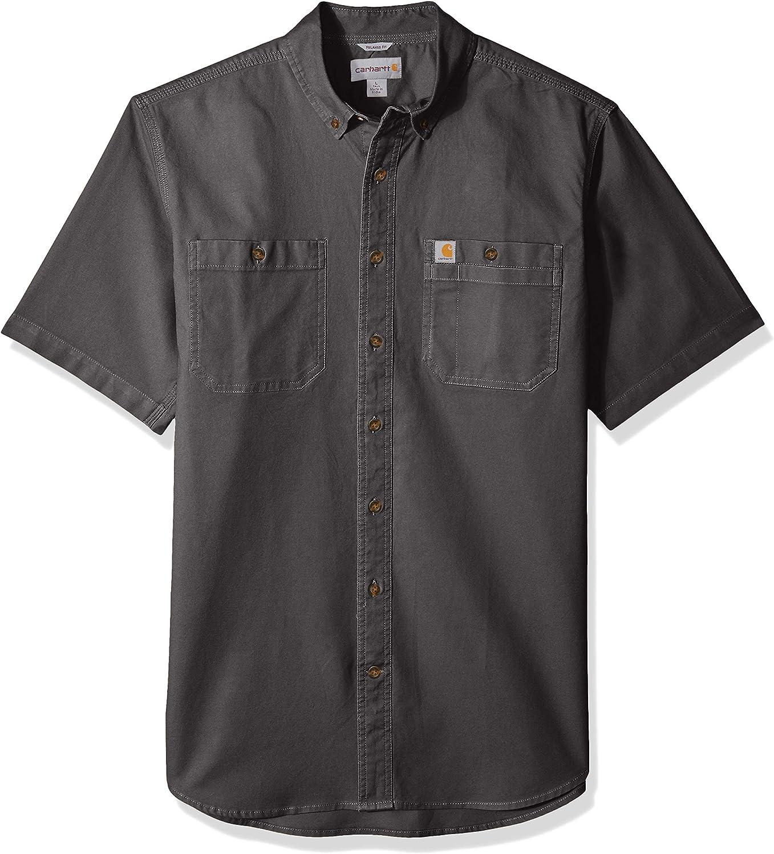 Carhartt - Camisa de trabajo de manga corta para hombre: Amazon.es: Ropa y accesorios