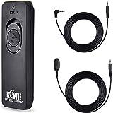 Kiwifotos Remote Control Shutter Release Cord for Sony A6000 A6100 A5100 A6600 A6500 A6400 A6300 A7 A7II A7III A7R A7RII…