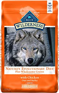 Blue Buffalo Wilderness High Protein, Natural Adult Large Breed Dry Dog Food