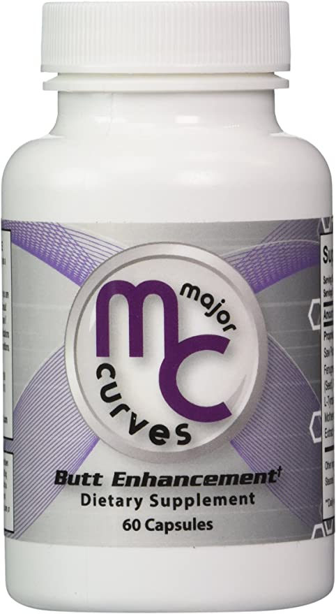 Amazon.com: Major Curves Butt Enhancement and Enlargement Capsules (1  Bottle): Health & Personal Care