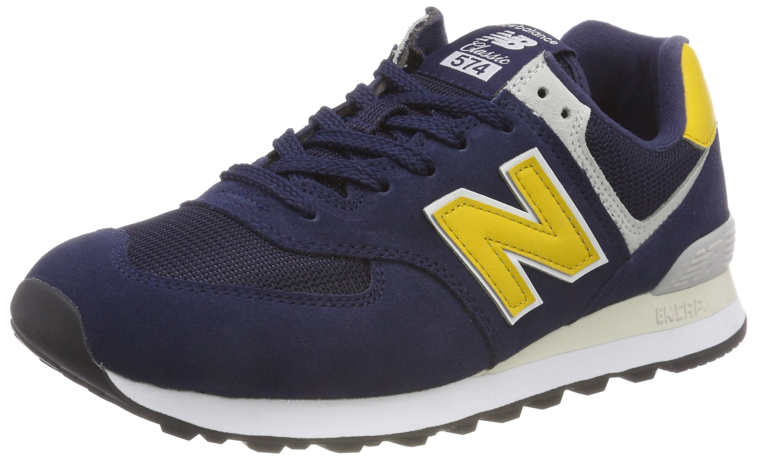 New Balance Men's 574v2 Sneaker, Pigment, 11.5 D US