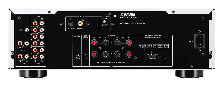 amazon com yamaha a s801sl natural sound integrated stereo rh amazon com Yamaha R300 Receiver As 300 Yamaha