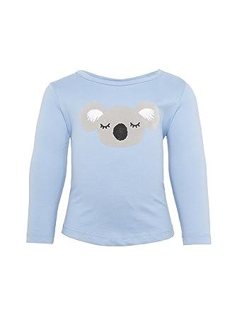 TOM TAILOR M/ädchen T-Shirts//Tops Langarmshirt mit Print