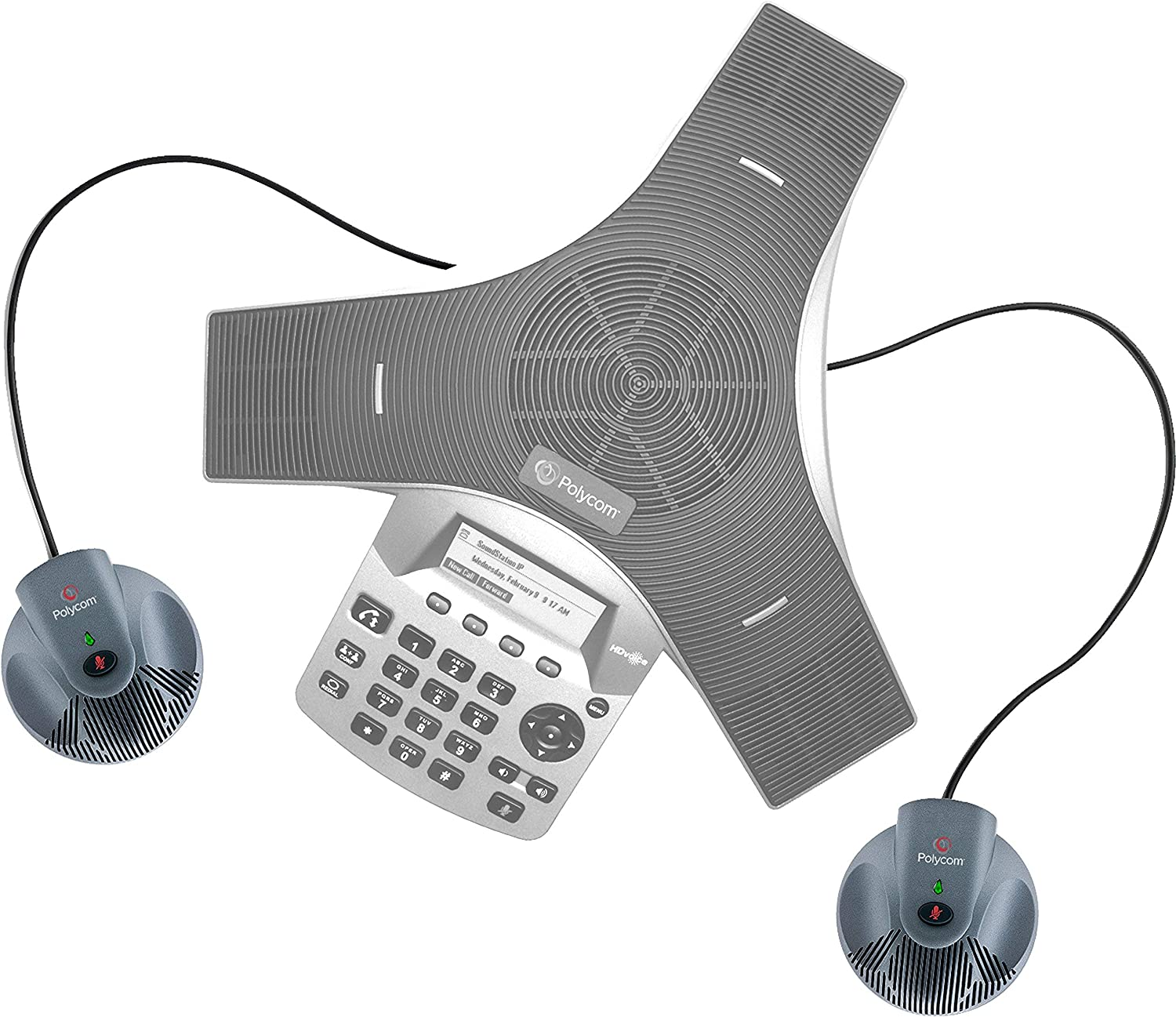 Polycom Extension Mics for CX3000 and Duo Renewed 2200-15855-001