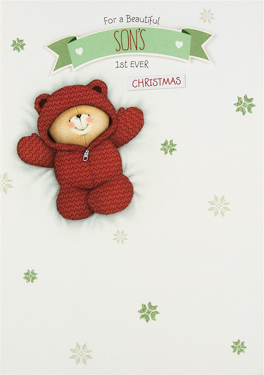 HALLMARK FOREVER FRIENDS YOU/'VE A NEW GRANDSON NEW BABY CARD