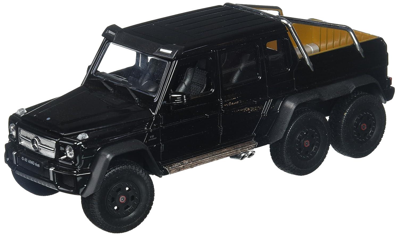 Welly Collection 1 24 2014 MercedesBenz G 63 AMG 6x6 Truck Diecast Model Car, Black