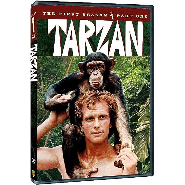 Tarzan: Season One Part One 4 Dvd Edizione: Stati Uniti Reino ...