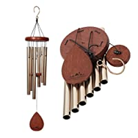 "UpBlend Outdoors introduces the medium Havasu Wind Chime (28"" total length); A beautiful gift for your patio, garden, and outdoor home décor."