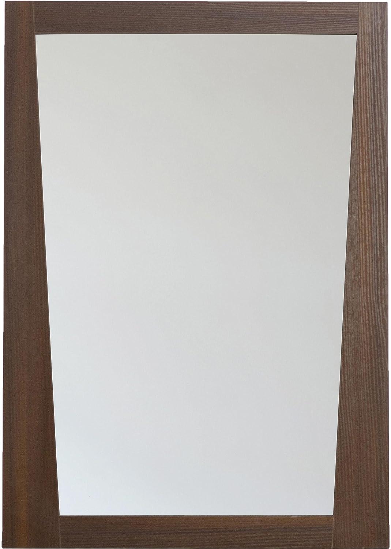 American Imaginations AI-5-1208 Modern Plywood-Melamine Wood Mirror, 24-Inch x 34-Inch, Wenge Finish