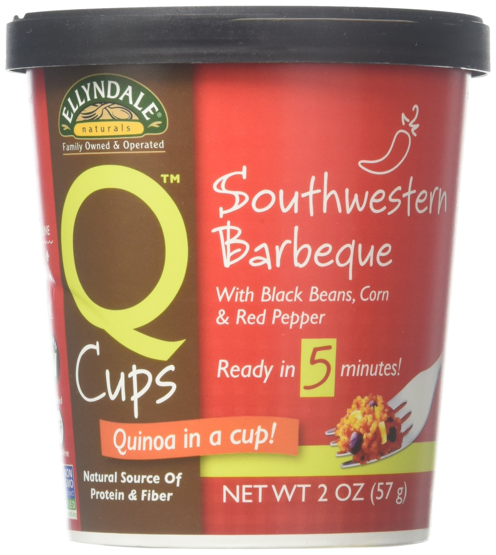 NOW Foods Q Cups, Southwestern Barbeque, 2.6 Ounce (Pack of 6)