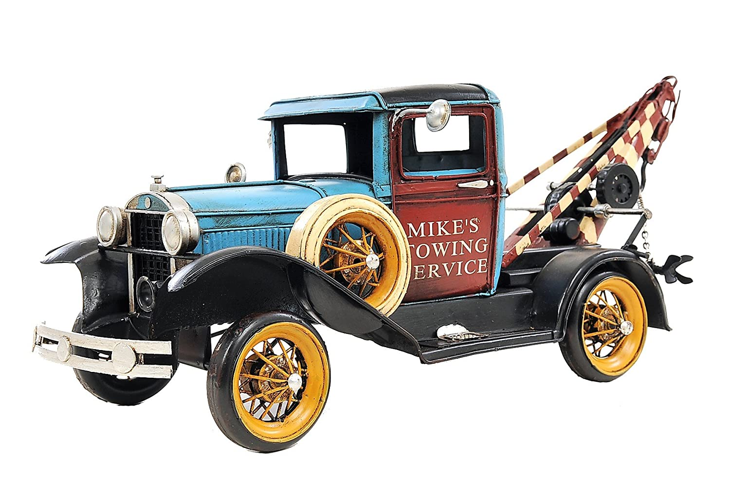 Amazon.com: Old Modern Handicrafts 1931 Ford Model a Tow Truck Collectible,  1:12-Scale: Home & Kitchen