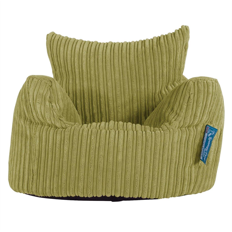 Lounge Pug, Poltrona Sacco Per Bambini, Pouf, Corda Classica - Grafite