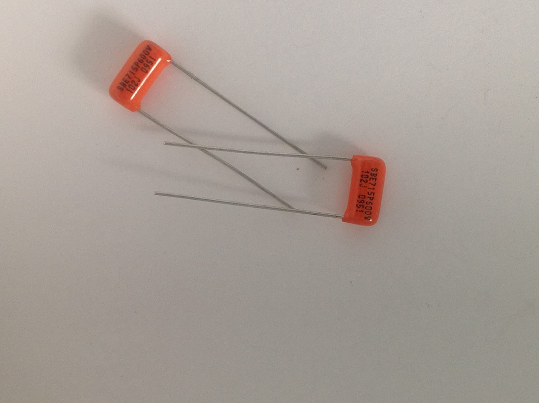 .001uF @ 400VDC Sprague Orange Drop Film Radial Capacitor 225P