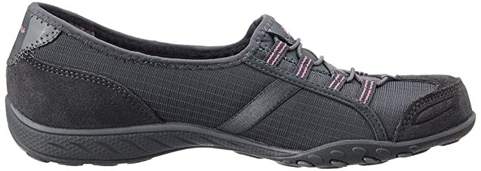 Skechers Damen Atmen Easy Allure Sneaker Holzkohle, Grau