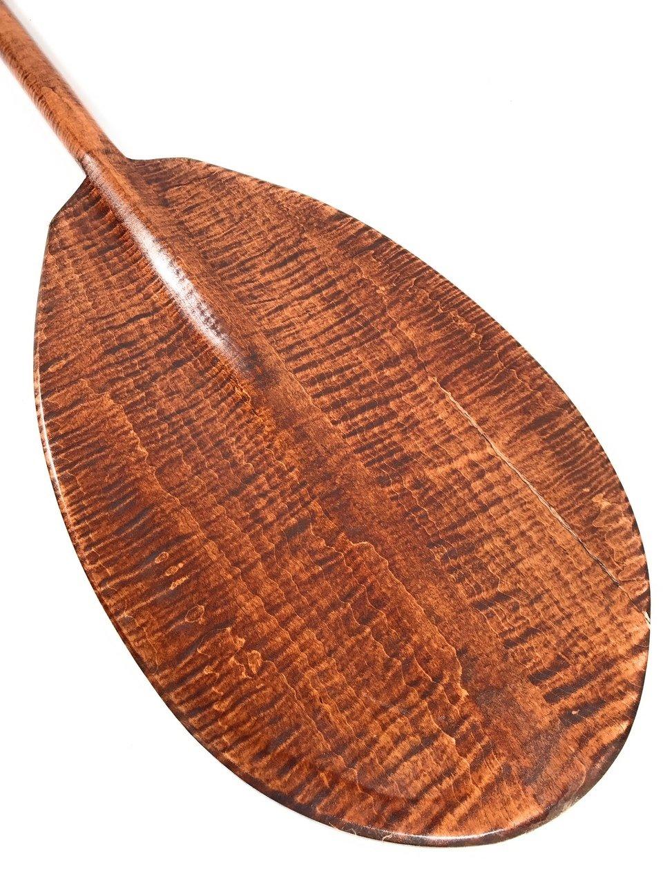 Steersman Decorative Paddle 60'' - Tiger Curls | #koa6095