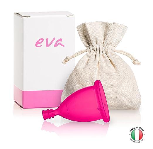 14 opinioni per Eva- Coppetta Mestruale Super-Soft in silicone platinico anallergico- 2 taglie e