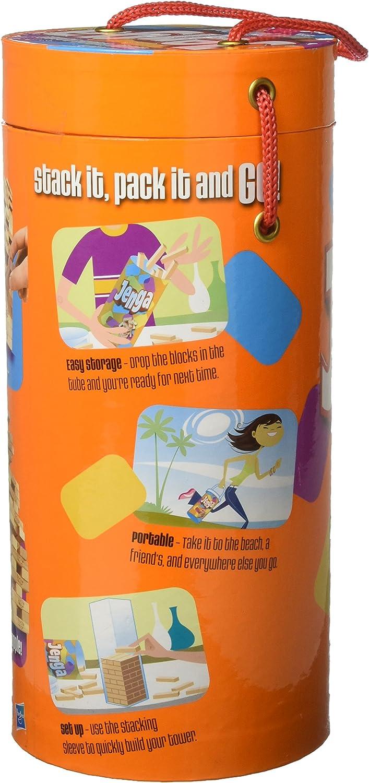 Hasbro Jenga [versión en inglés]: Amazon.es: Juguetes y juegos
