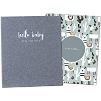 Minimalist Baby Memory Book | Keepsake Milestone Journal | LGBTQ Friendly | 25cm x 29cm 60 Pages | Perfect Baby Shower Gift