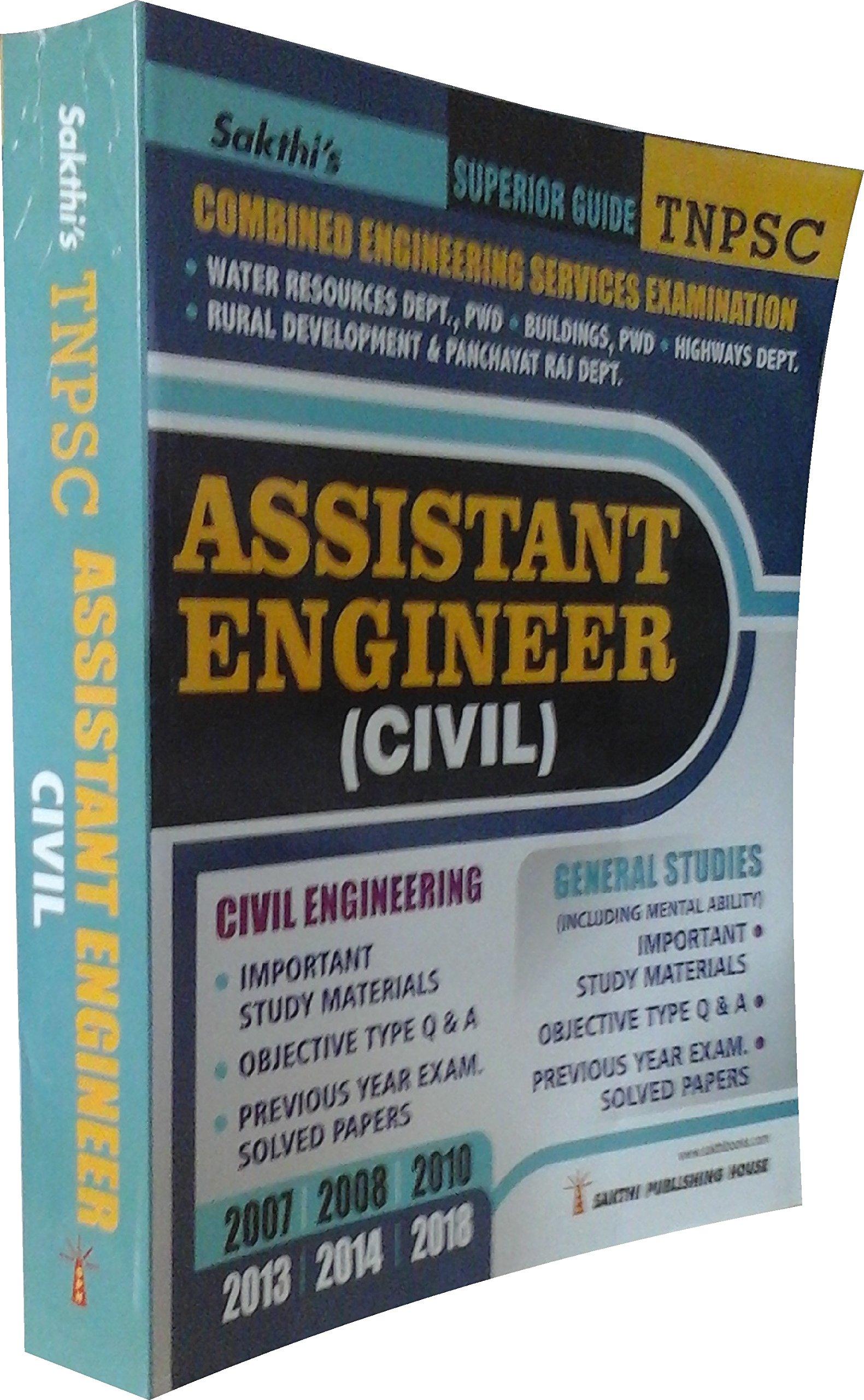 buy tnpsc assistant engineer civil civil engineering general rh amazon in Cicerone Exam Study Guide Exam Study Guide Brady Michael Morton