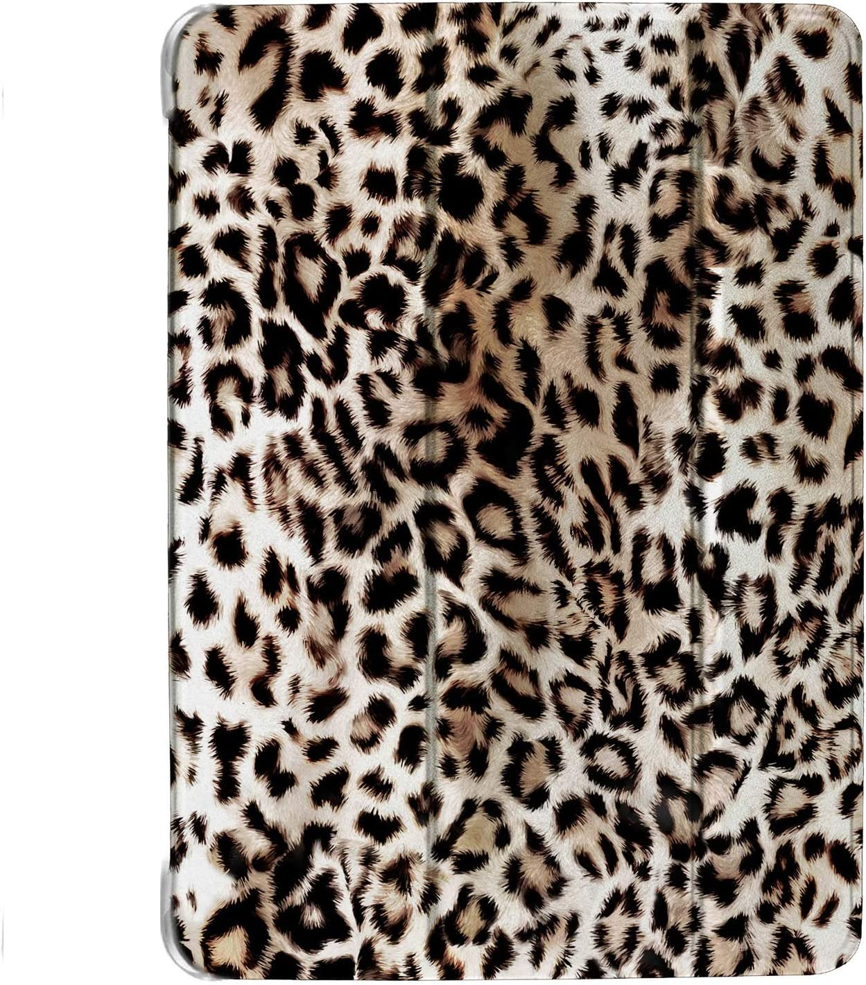 DuraSafe Cases for iPad Mini 4th Gen 2015-7.9 MK6K2LL/A MK6J2LL/A MK6L2LL/A MK9J2LL/A MK9H2LL/A Ultra Slim Energy Saving Printed Case with Adjustable Stand Feature and Sleek Design - Leopard