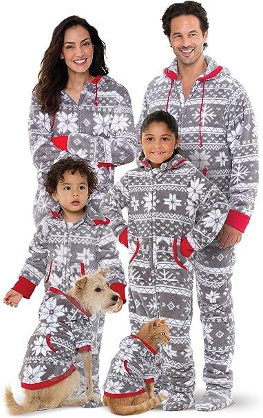 pajamagram family pajamas matching sets christmas onesie gray women xs 2