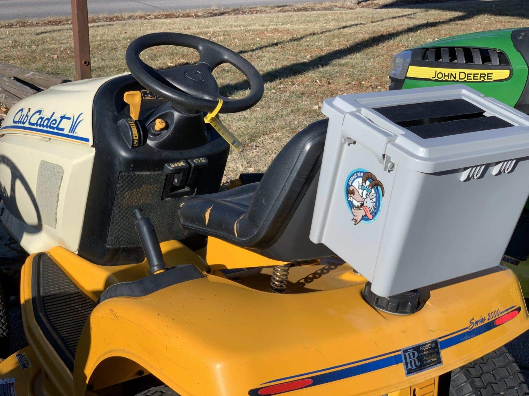 Ballard Inc Garbage Goat - Mower Trash Containment System by Ballard Inc