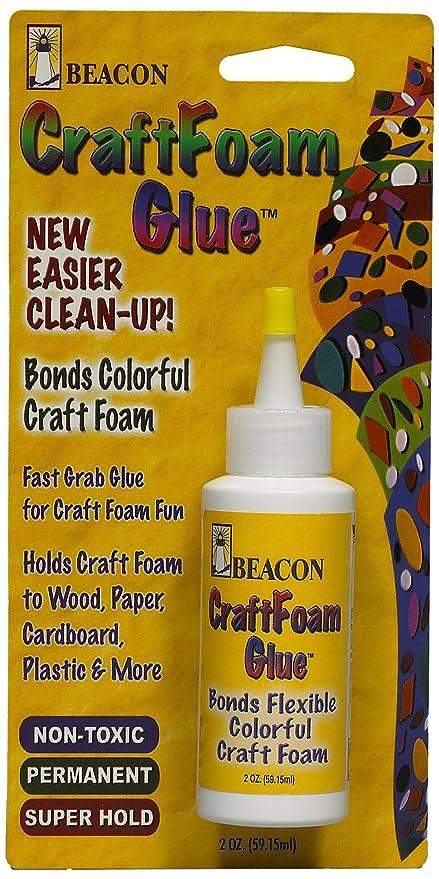 Craft Foam Glue 59 Ml Medium Dries Bottle Clear Amazon Co Uk