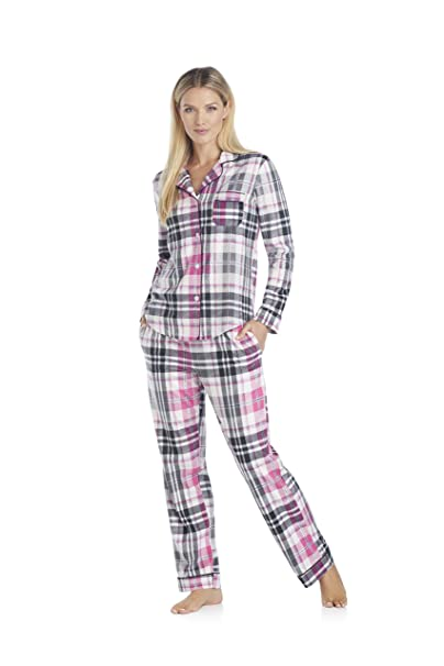 DKNY - Pijama - para mujer multicolor LT. VELLUM PLAID X-Small