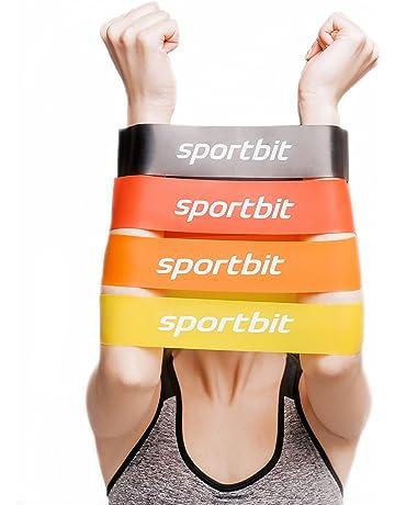 8ceb8d075 SPORTBIT Pilates Flexbands Set with Bag   e-Book for Exercise   Workout