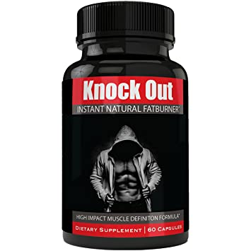 10c9c6c0b7d91 Instant Knockout Fat Burner Diet Supplement Pill for Men and Women - High  Impact Weight Loss Dietary...