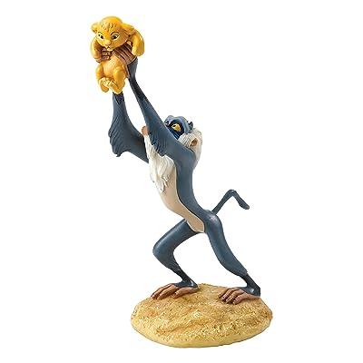 Disney Enchanting Collection Figura Disney The Lion King IS Born, Piedra, 6.5 x 10.5 x 16 cm: Hogar