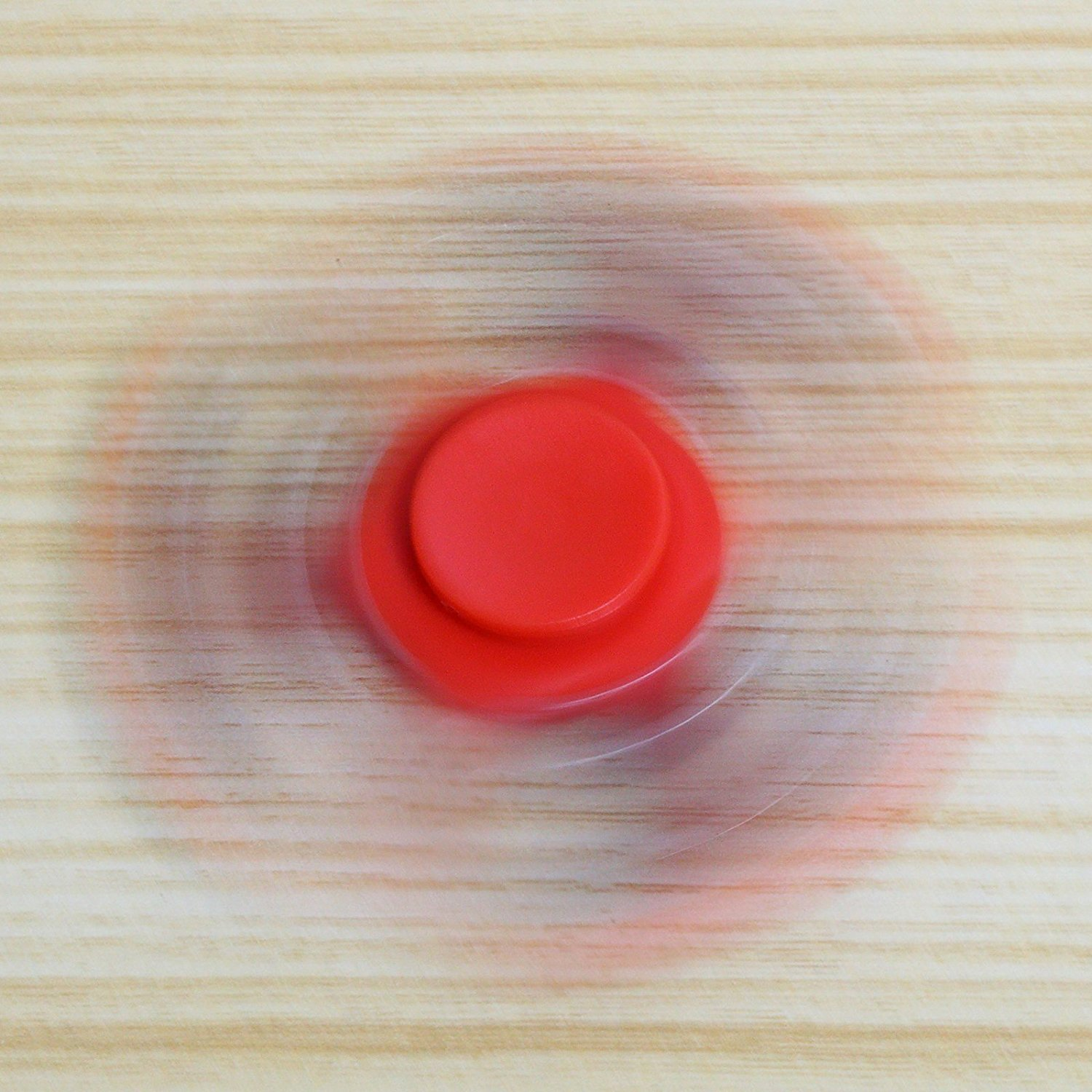 XY Fidget Hand Spinner Toy Perfect For Anxiety, ADHD, ADD and Autism Adult Children, with Ceramic Bearing. (Red)